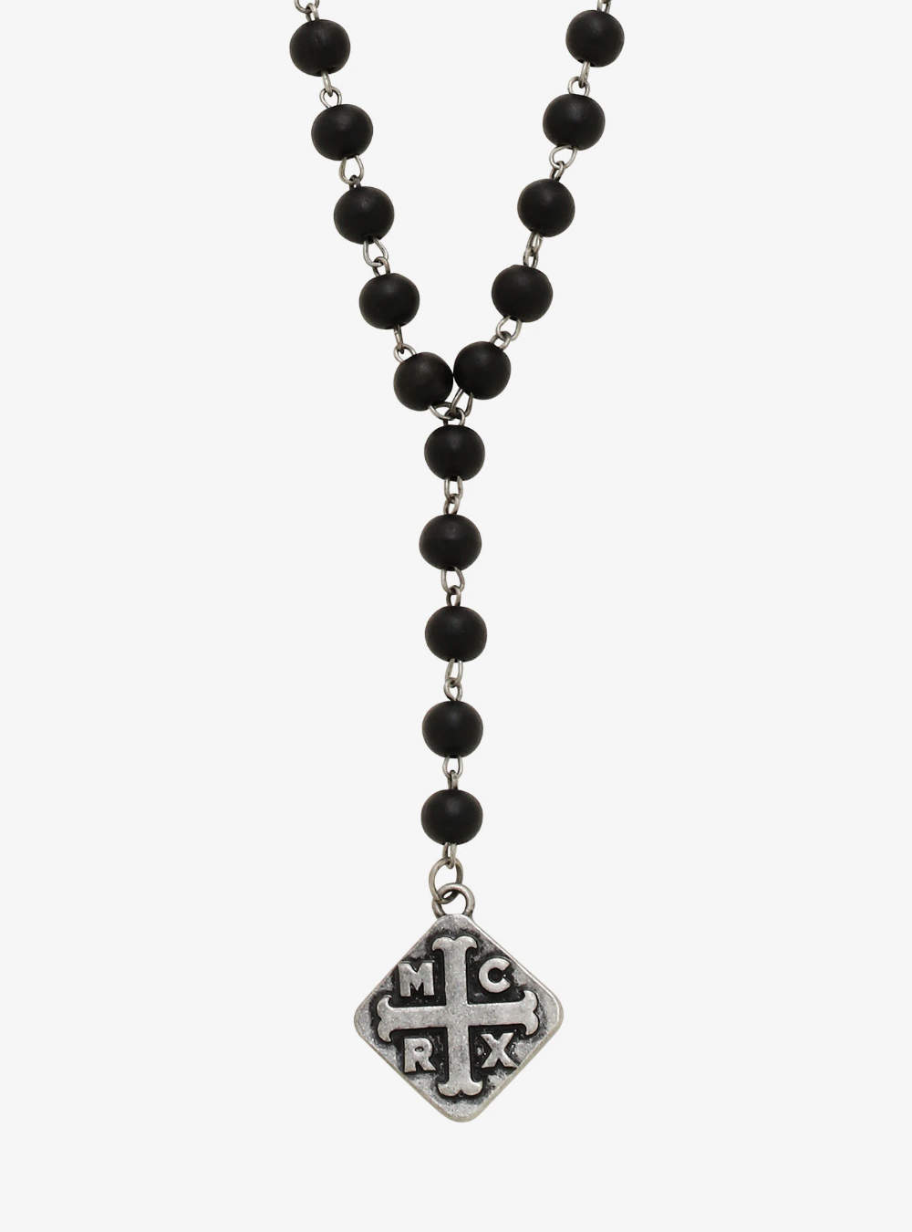 My Chemical Romance Rosary Pendant Necklace #rosaryjewelry