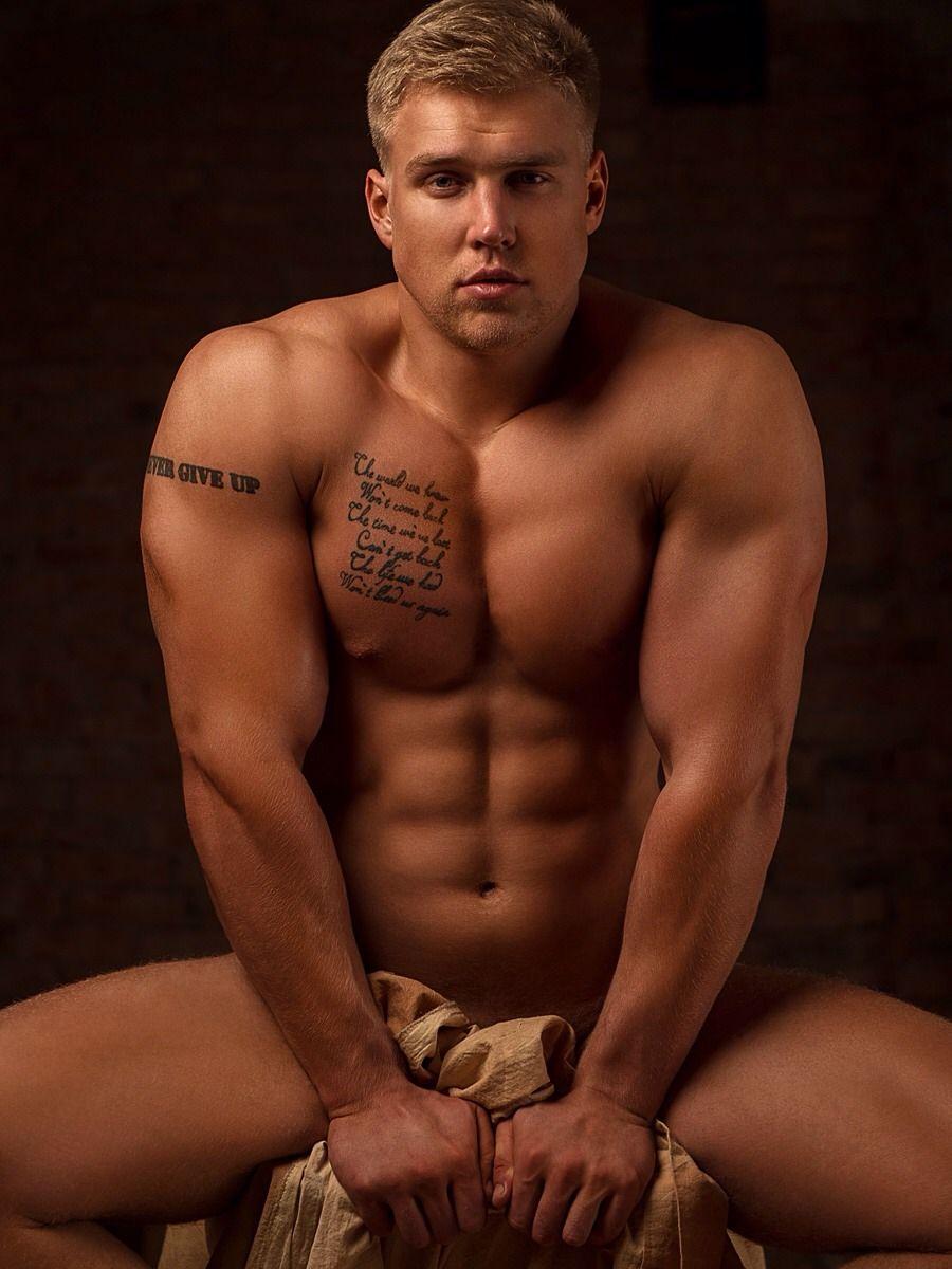 Russian model men nude