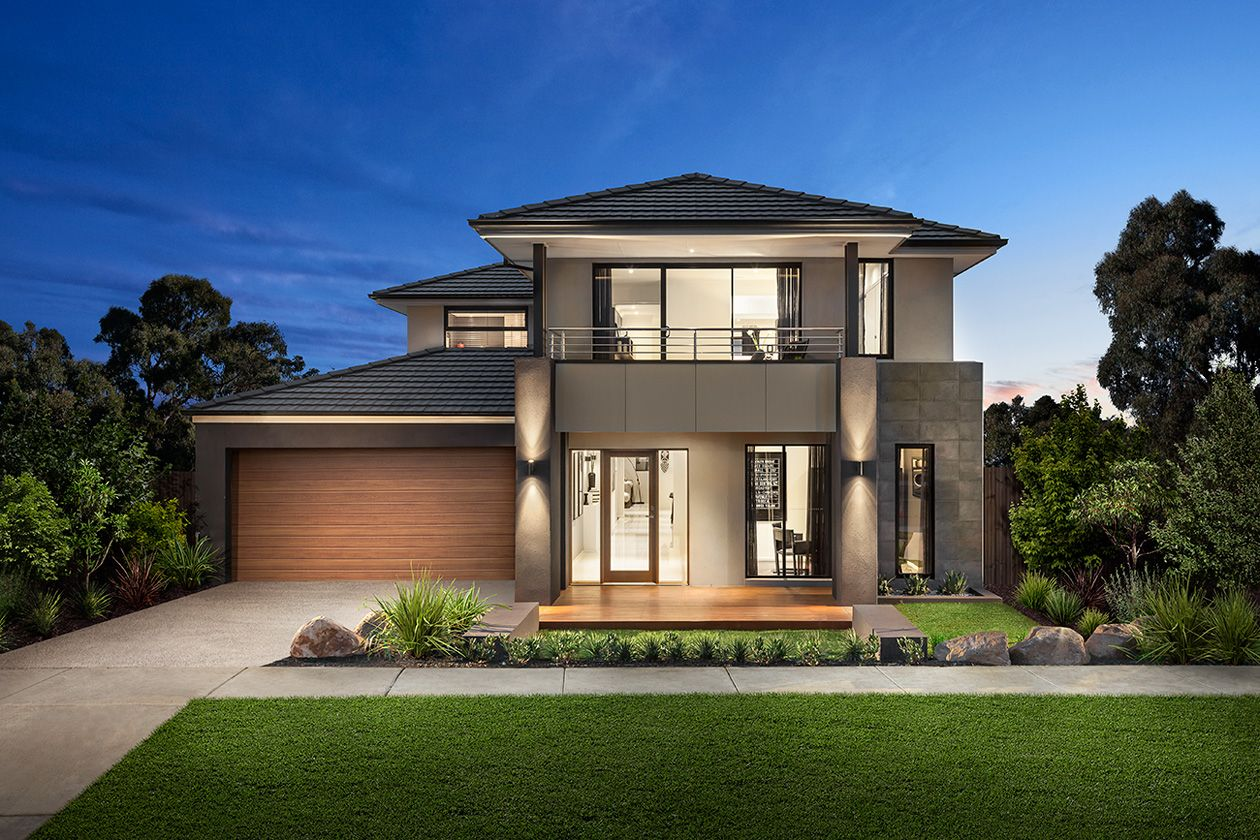 Carlisle Homes Somerset Facade - Featured Featherbrook