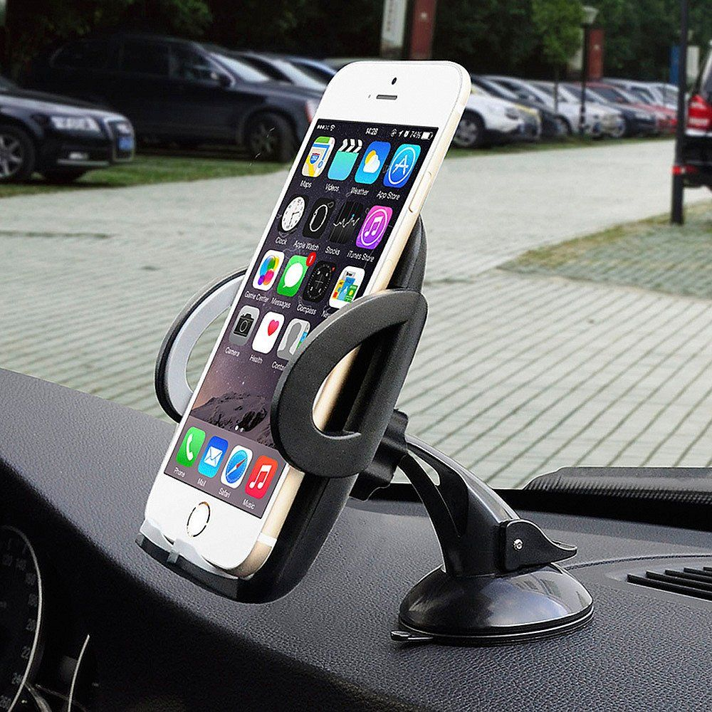 Google Nexus Galaxy S5//S6//S7//S8 YYKY 2-in-1 Car Phone Holder,Air Vent Cell Phone Holder Mount Cradle Dashboard Windshield Universal for iPhone 7//7Plus//6s//6Plus//5S Huawei and More LG