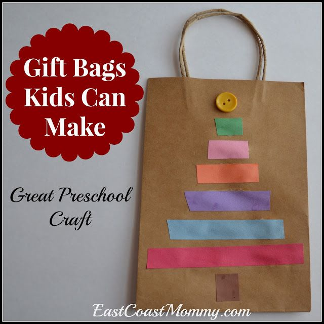 East Coast Mommy: Gift Bags Kids Can Make