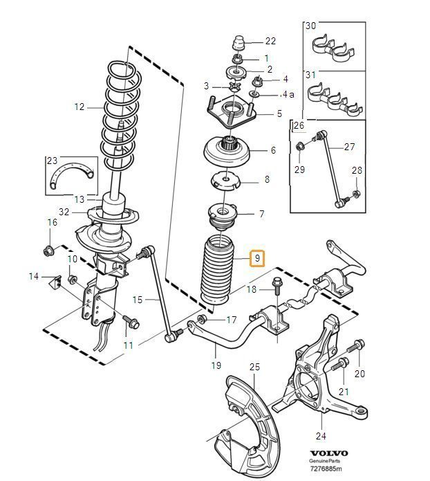 Ultimate Diy Guide To Replacing 4c Front Struts 2004 2007 V70r Diy Mechanics Diy Guide The Struts