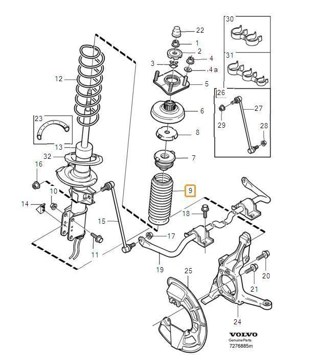 [DIAGRAM] Front Strut Diagram