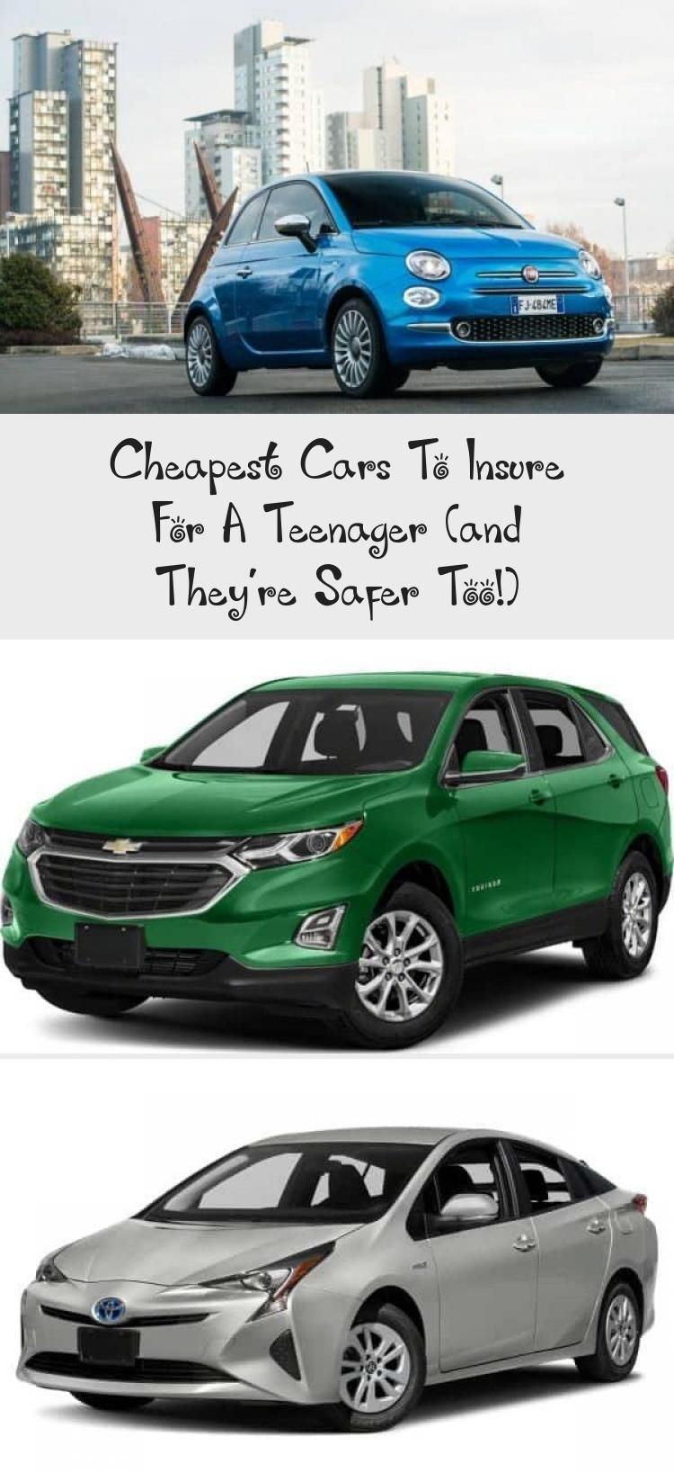 Cheapest Cars To Insure For A Teenager And They Re Safer Too In 2020 Cheap Cars Car Teenage Drivers