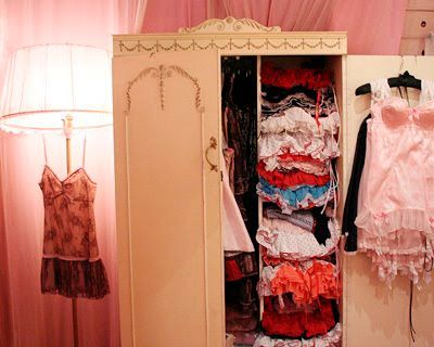 Iu0027m In Great Need Of A Lingerie Closet Like In This Fifi Chachnil Photo