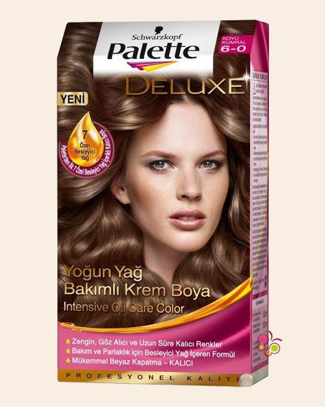Palette Set Sac Boyasi 6 0 Koyu Kumral Sac Sac Boyasi Palet
