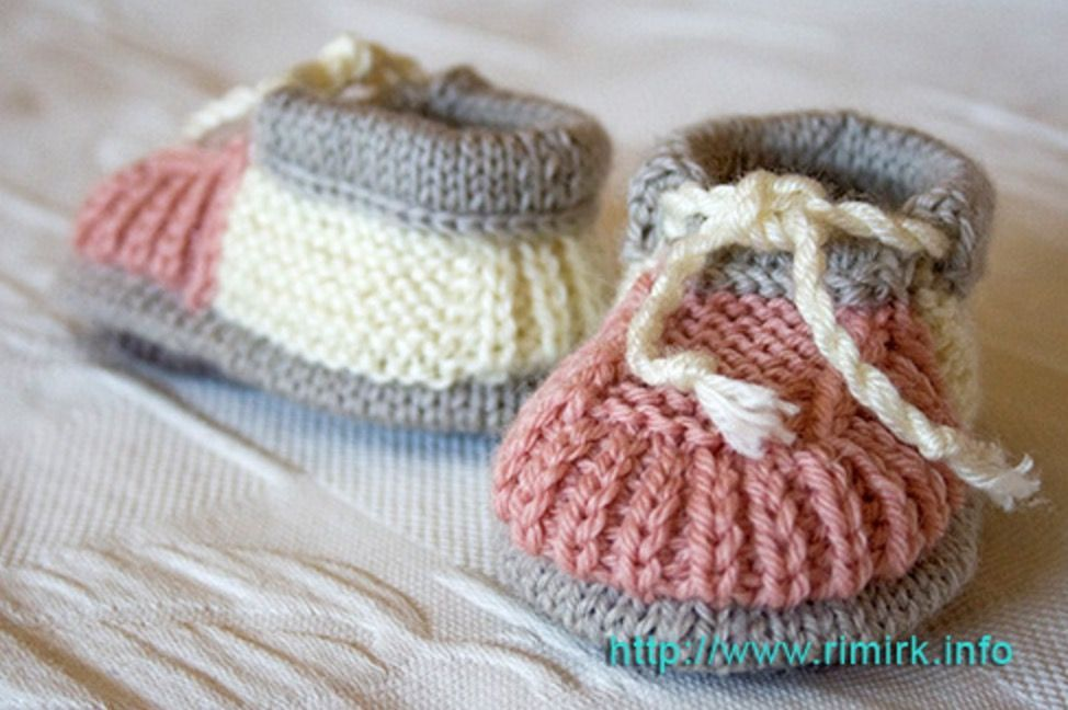 Knitted Baby Booties Free Patterns Cutest Ideas Ever | Kleinkinder ...