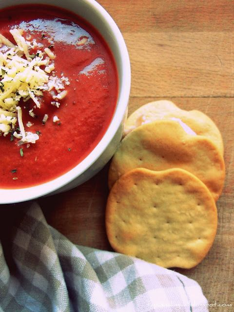 Beetroot and Carrot Soup [with Parmesan]