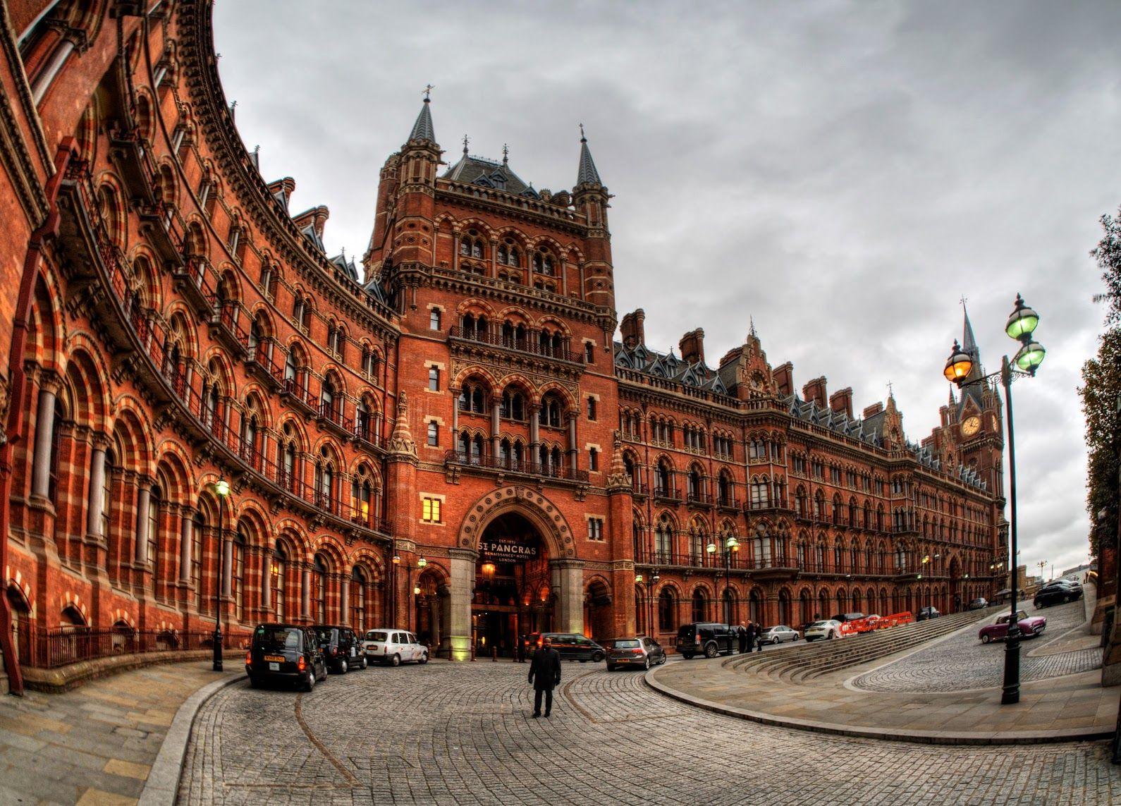 St. Pancras Station, London, by Neil Howard