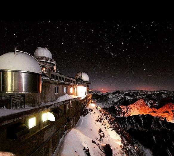Pic Du Midi in de pyreneeën, Frankrijk