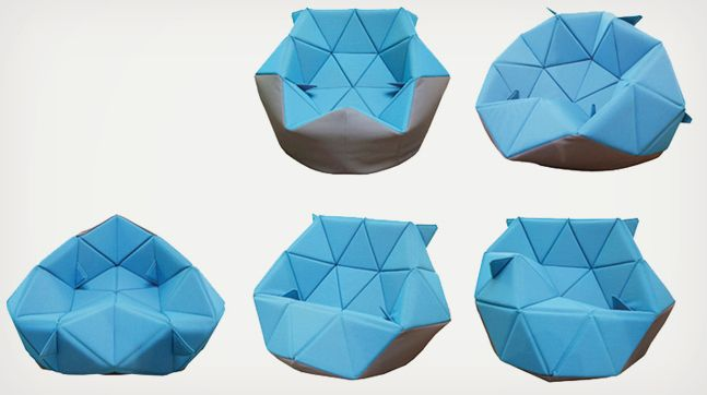Marie Bean Bag Chair By Antionette Bader Cool Material