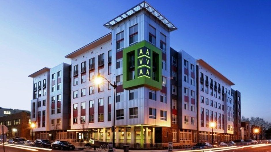 D C Apartment Buildings Targeting Millennials Rent Com Blog Building Apartment Building Mix Use Building