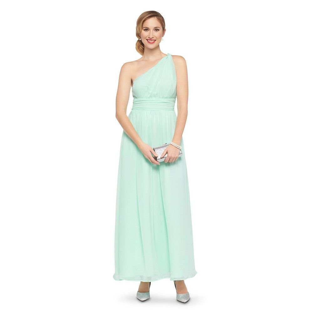 Women S Plus Size Chiffon One Shoulder Maxi Bridesmaid Dress Cool Mint 24w Tevolio Gr Affordable Bridesmaid Dresses Mint Bridesmaid Dresses Mint Maxi Dresses [ 1000 x 1000 Pixel ]