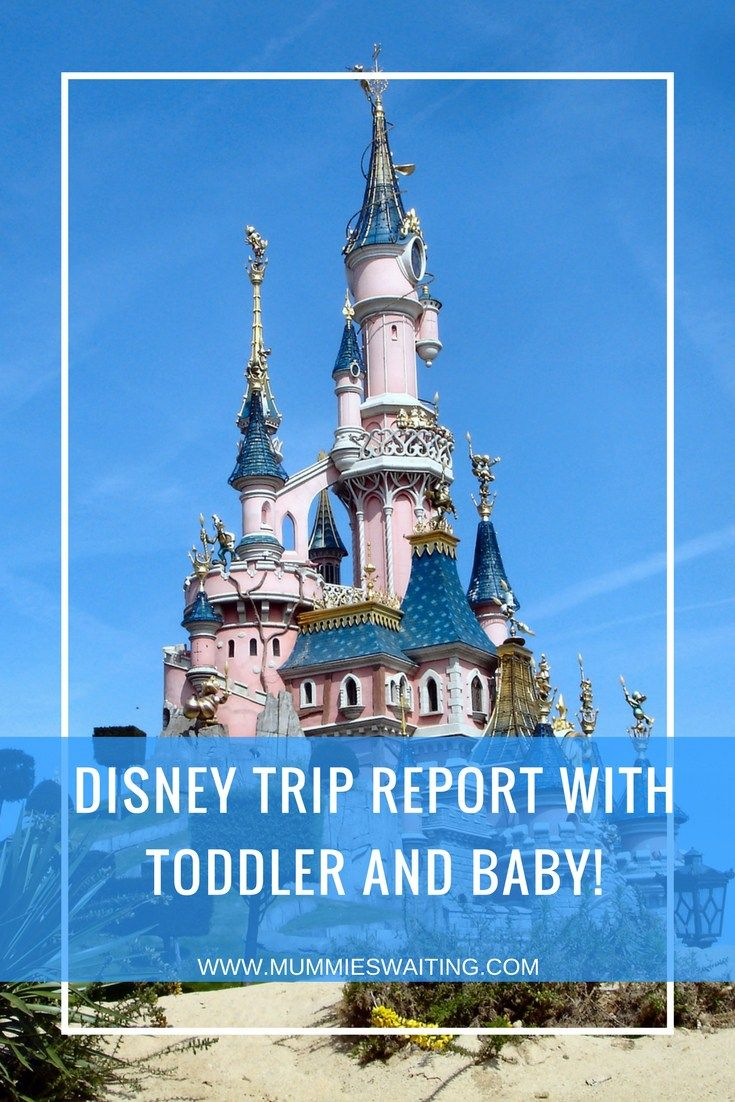 Disney Trip Report With Toddler And Baby  Disney