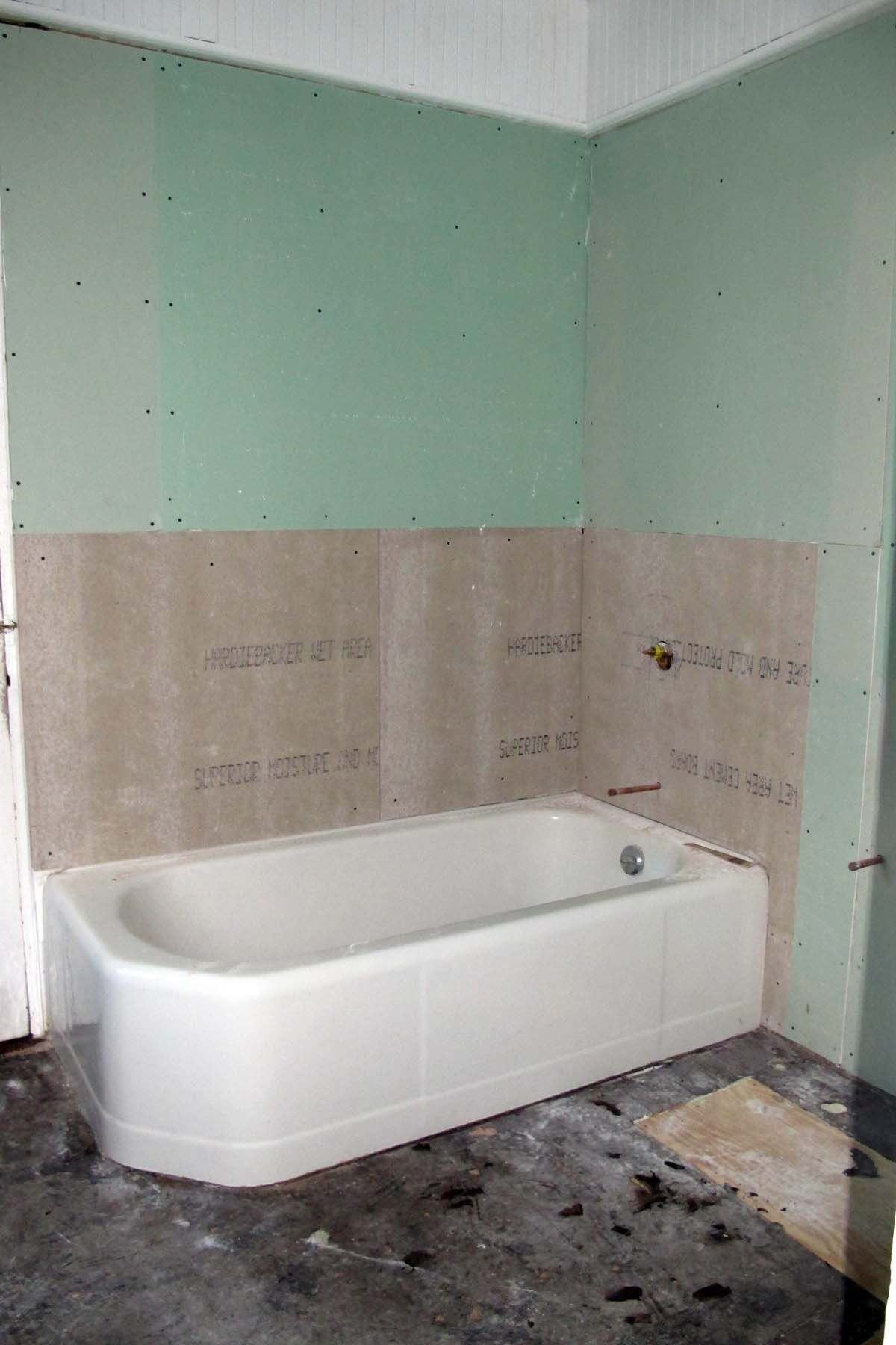 Stunning How To Install Hardibacker On Walls Gallery - The Best ...
