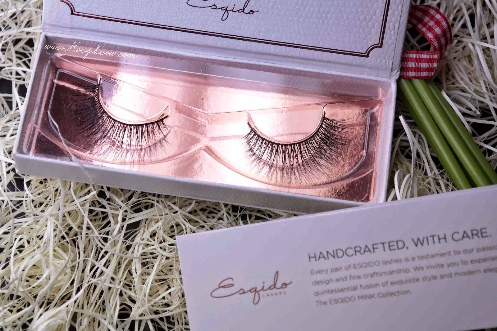 Soft, natural and beautiful. ESQIDO MINK LASHES in UNFORGETTABLE. #ESQIDO #bride #bridal #makeup #lashes #wedding www.KoeyLeow.com