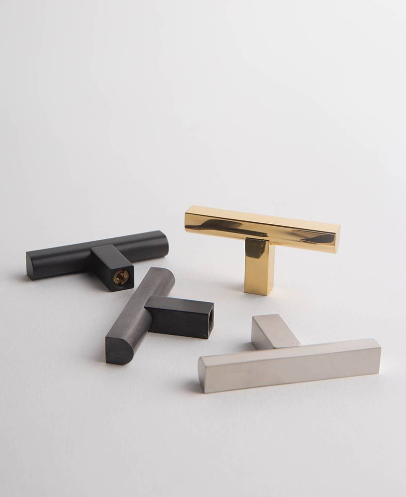 Taipei T Bar Kitchen Door Handle Available In Four Sizes