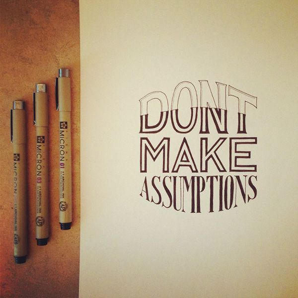 Hand Lettering of Four Agreements on Behance