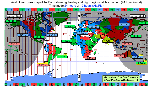 World time zones wo 15 vliegen over de wereld pinterest time shows earth day night regions and standard time zones gumiabroncs Images