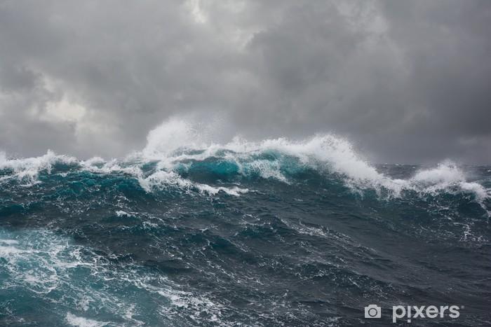 Papier Peint Vague De La Mer Pendant La Tempete Dans L Ocean Atlantique Pixers Nous Vivons Pour Changer In 2020 No Wave Ozean Sturm Meer Wellen