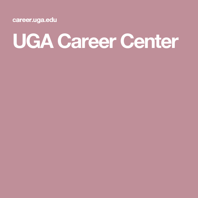 Uga Career Center Resume Uga Career Center  Good Advice  Pinterest  Career Counseling