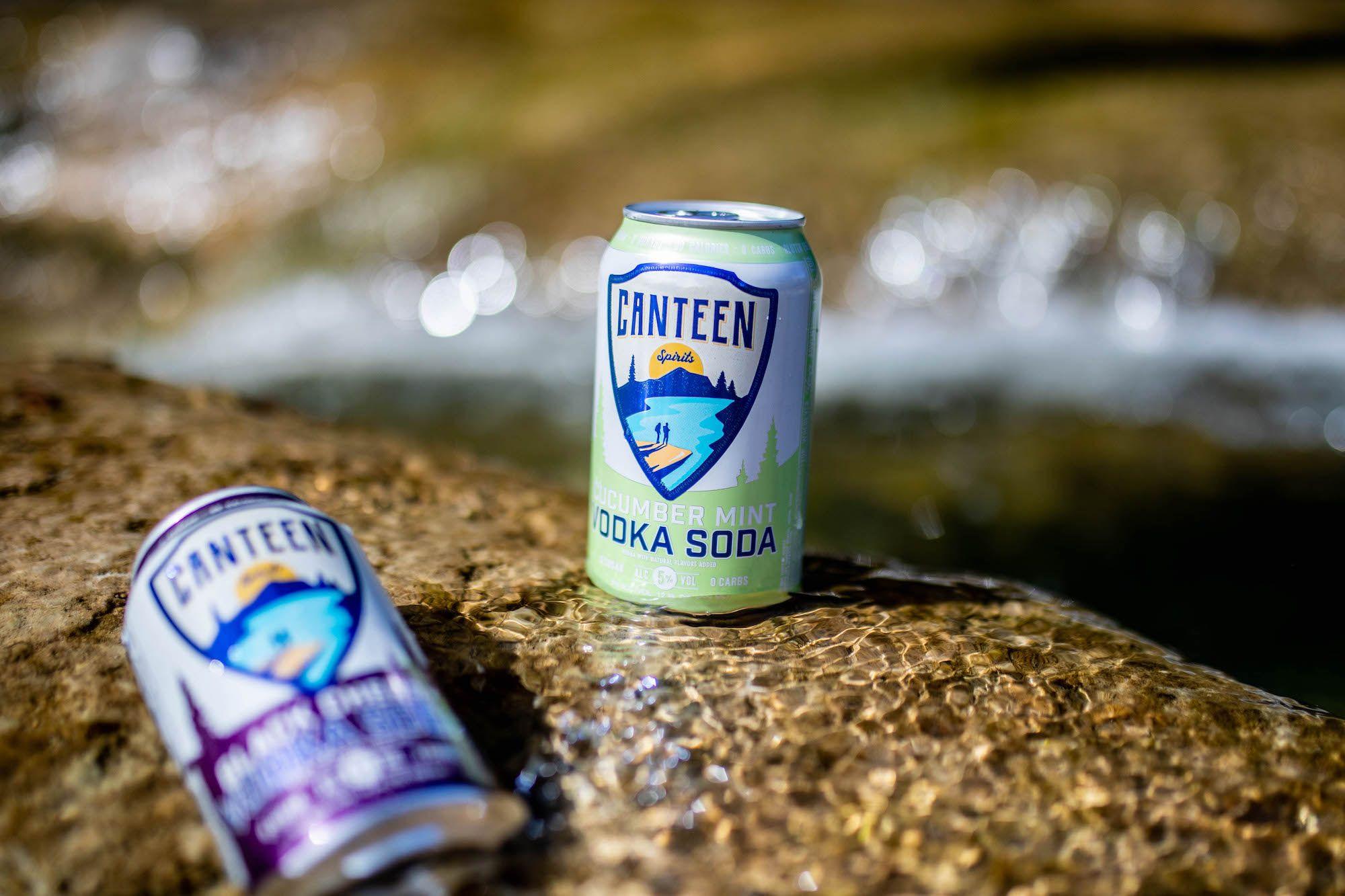 Canteen Sparkling Vodka Soda Now Available Nationwide Beeralien In 2020 Vodka Soda Vodka Malt Beer
