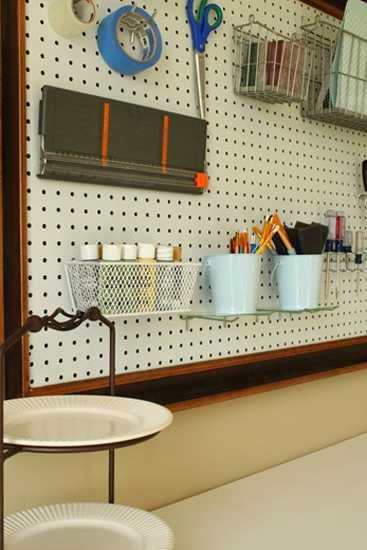 12 Ways to Utilize Pegboards for Home Organizers and Functional Wall