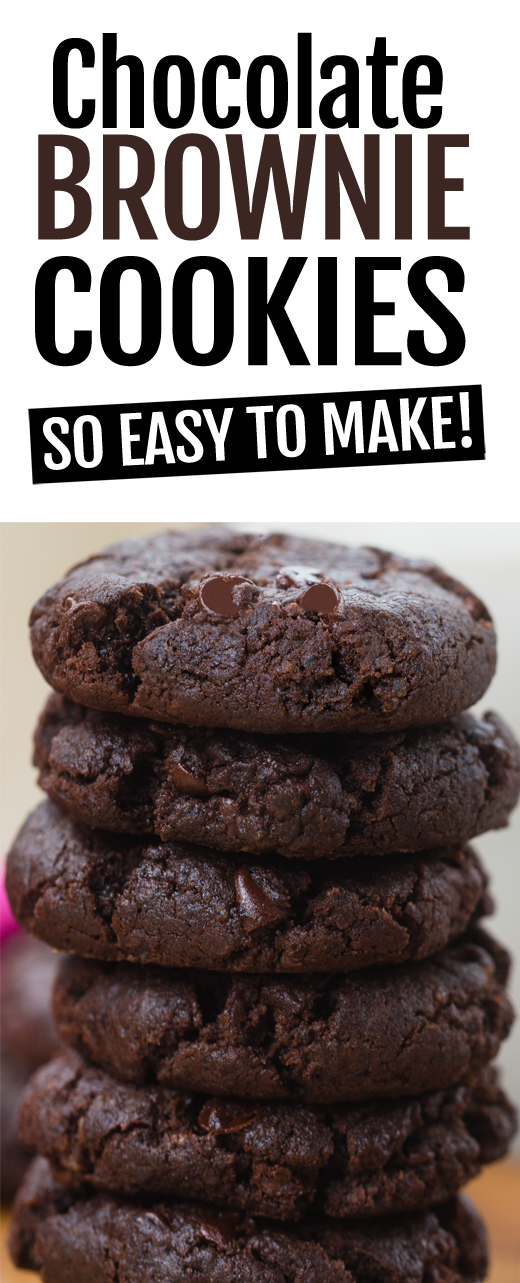 Chocolate Brownie Cookies - Chocolate Covered Katie