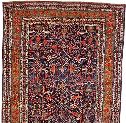 Bidjar Rugs: Arabesque Bijar Carpet