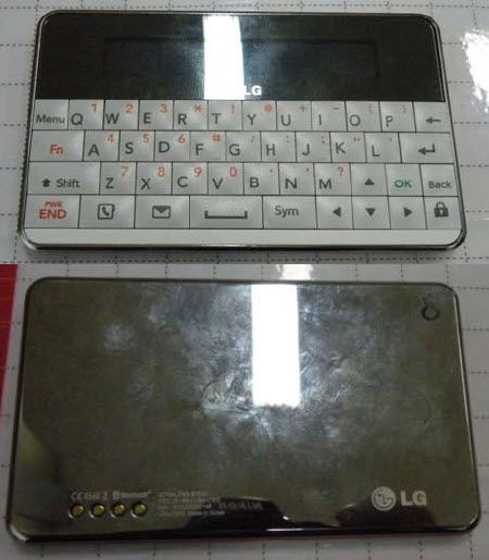 74d79376acb LG-IBA-c300 Bluetooth keyboard, meant to pair with LG mobile phones ...