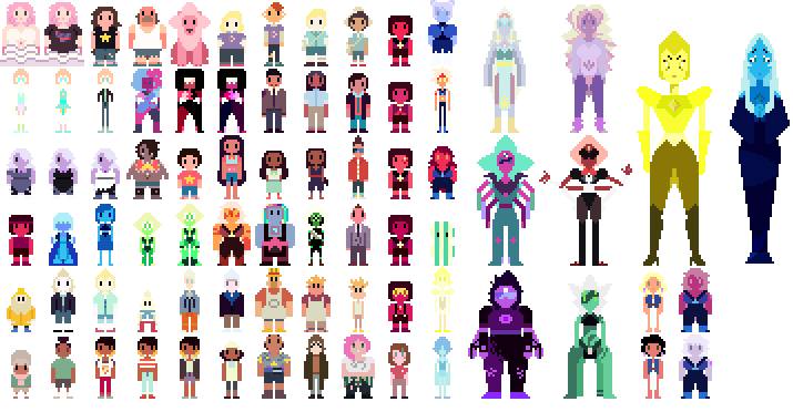 Get Inspired For Steven Universe Pixel Art @KoolGadgetz.com