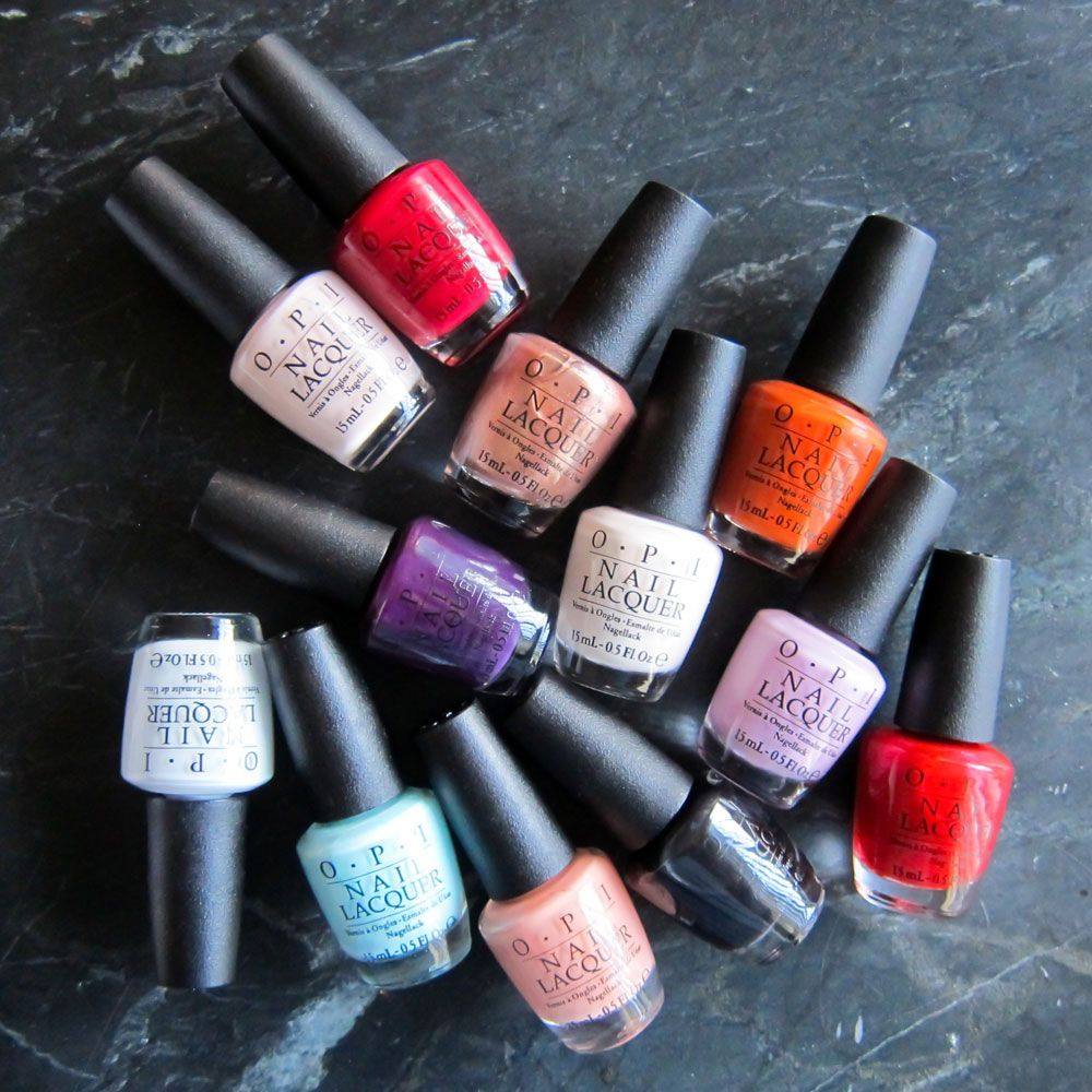 The Top 10 OPI Nail Colors Of All Time | Opi nail colors, Opi nails ...