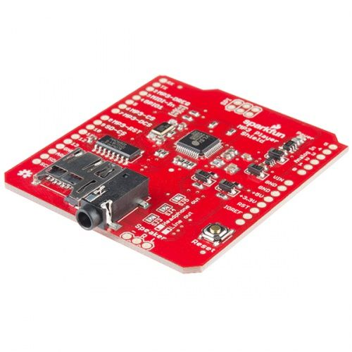 SparkFun MP3 Player Shield (With images) | Mp3 player. Arduino projects. Players