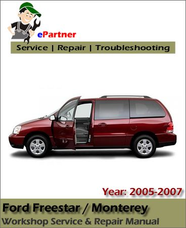 Download Ford Freestar Service Repair Manual 2005 2007 border=