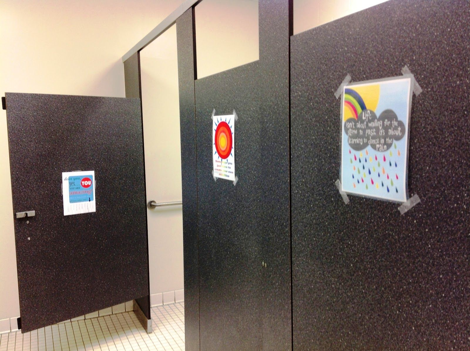 middle school bathroom. Perfect Bathroom The Middle School Counselor Kindness Project Making The A More  Beautiful Place In Bathroom