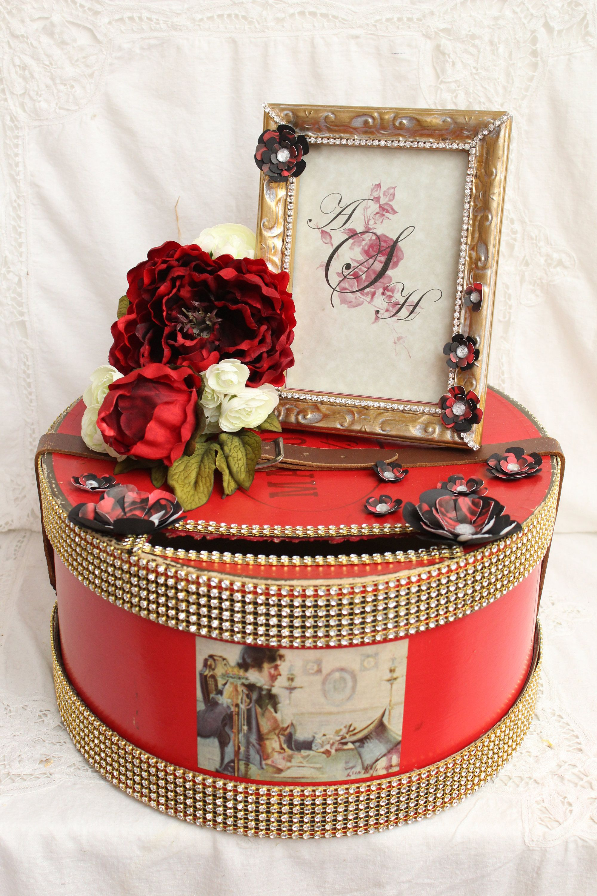 How To Decorate A Card Box For A Wedding Pinterest