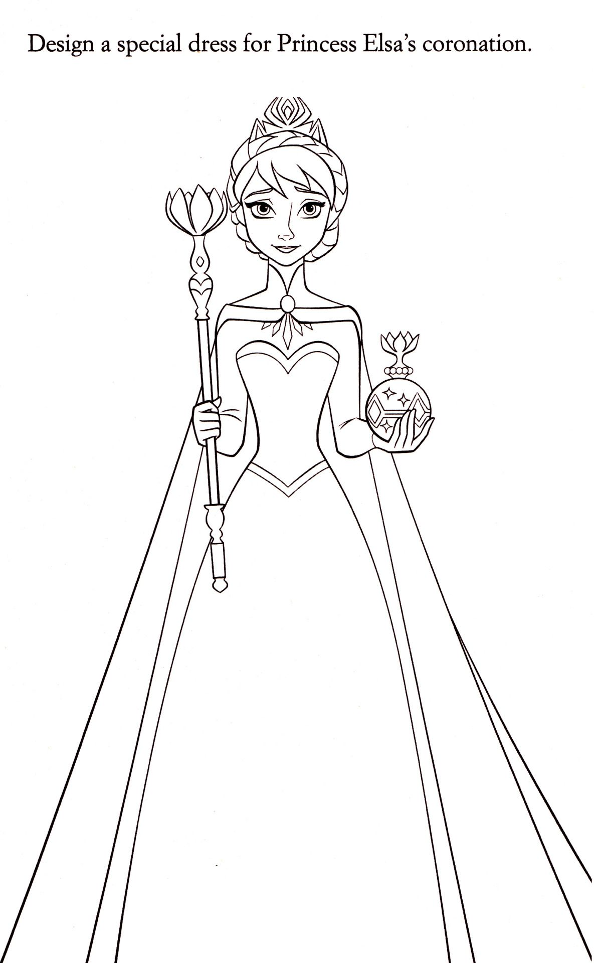Disney Coloring Pages Photo Elsa Coloring Pages Elsa Coloring Disney Coloring Pages
