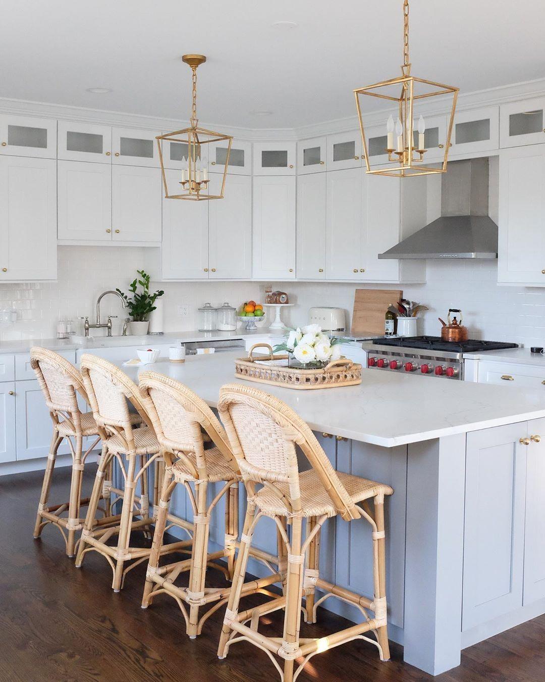 Sunwashed Riviera Counter Stool White Shaker Kitchen Counter Stools Kitchen Design