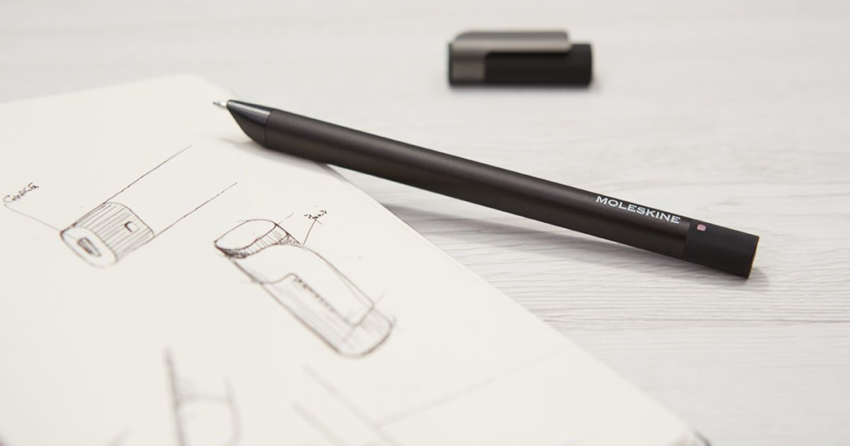 Moleskine S Latest Smart Pen Saves Your Writing To Download Later Smart Pen New Pen Pen