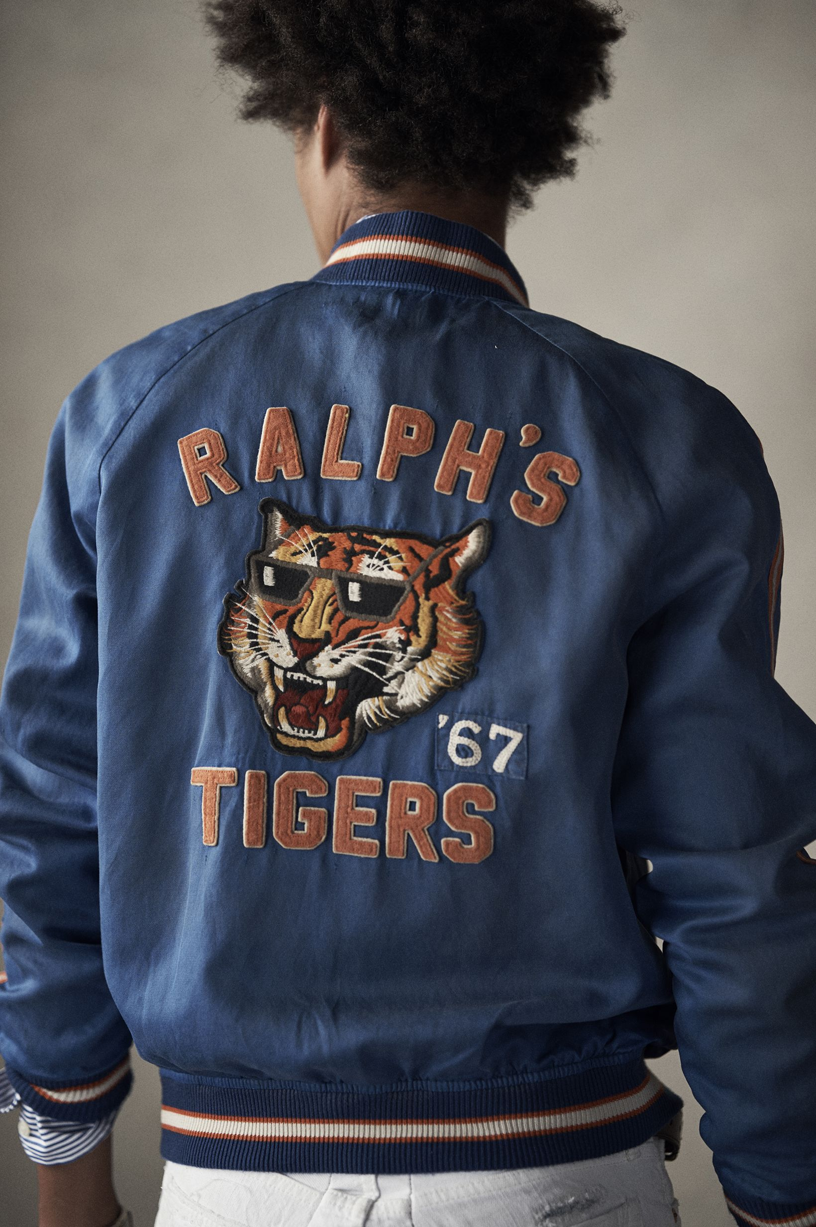 91b2488ee The souvenir baseball jacket. Varsity-inspired sensibility, reinterpreted  for today. #Polo