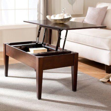 Amazon Com Turner Lift Top Coffee Table Espresso Furniture