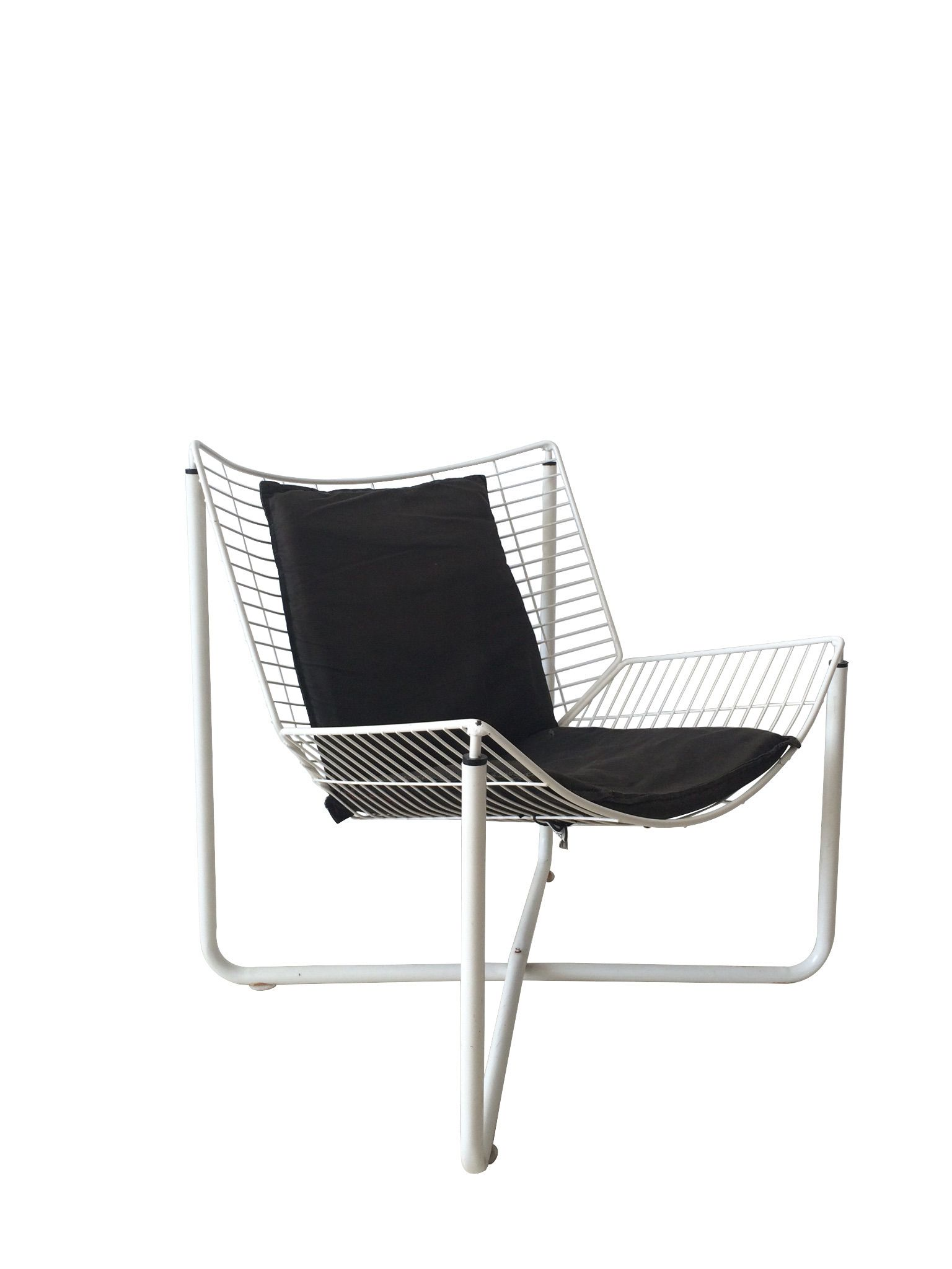 Jarpen Chair By Niels Gammelgaard For Ikea 1983 Wire Chair