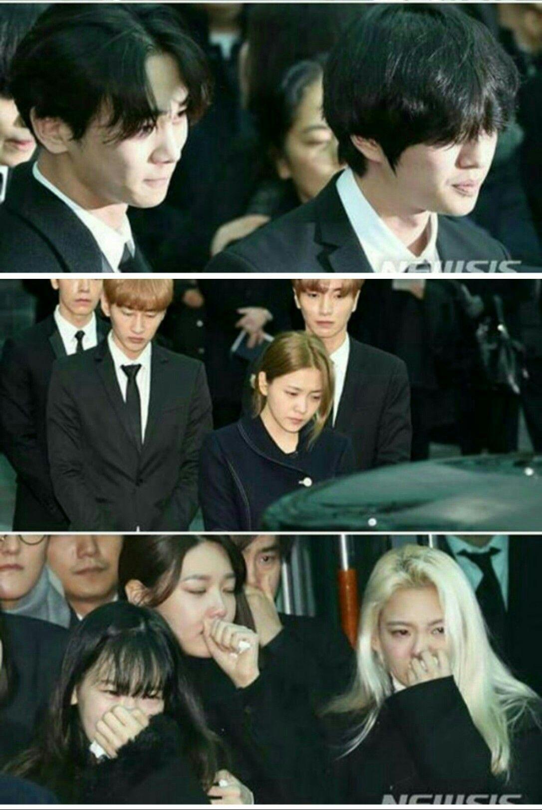 Jonghyun's last day of funeral  R  I  P KIM JONGHYUN  You've