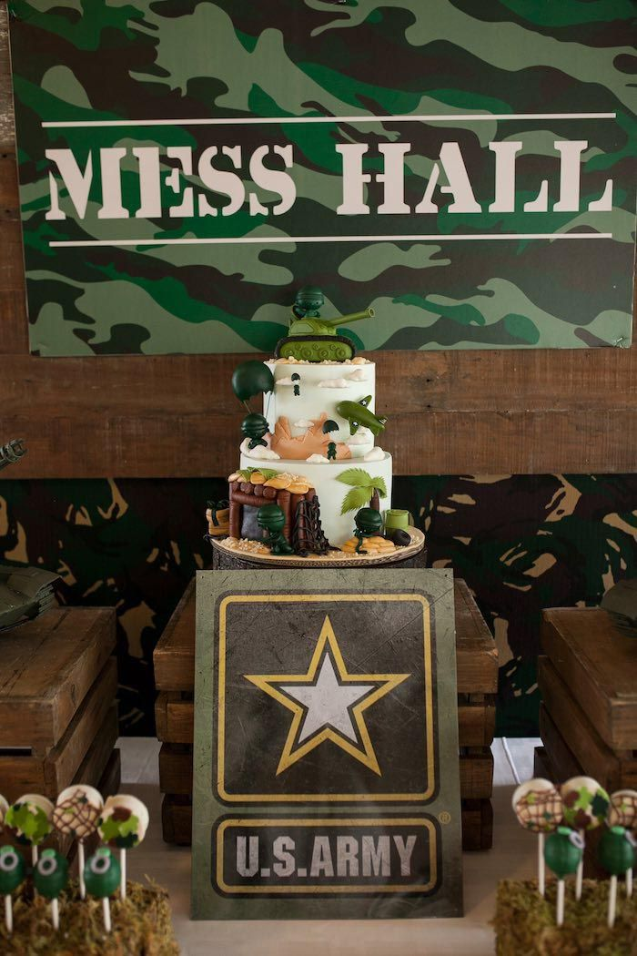 Army Birthday Party Ideas Military Theme Birthday Party