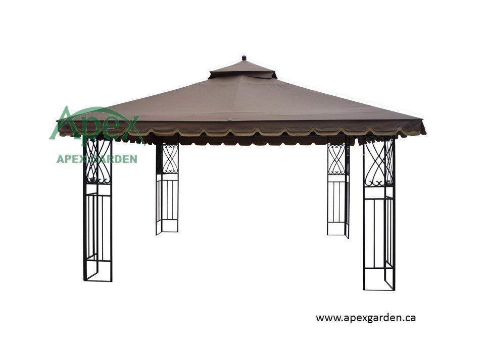 Canopy  sc 1 st  Pinterest & Victoria Garden YH-6012D 10u0027x12u0027 Gazebo Replacement Canopy Top ...
