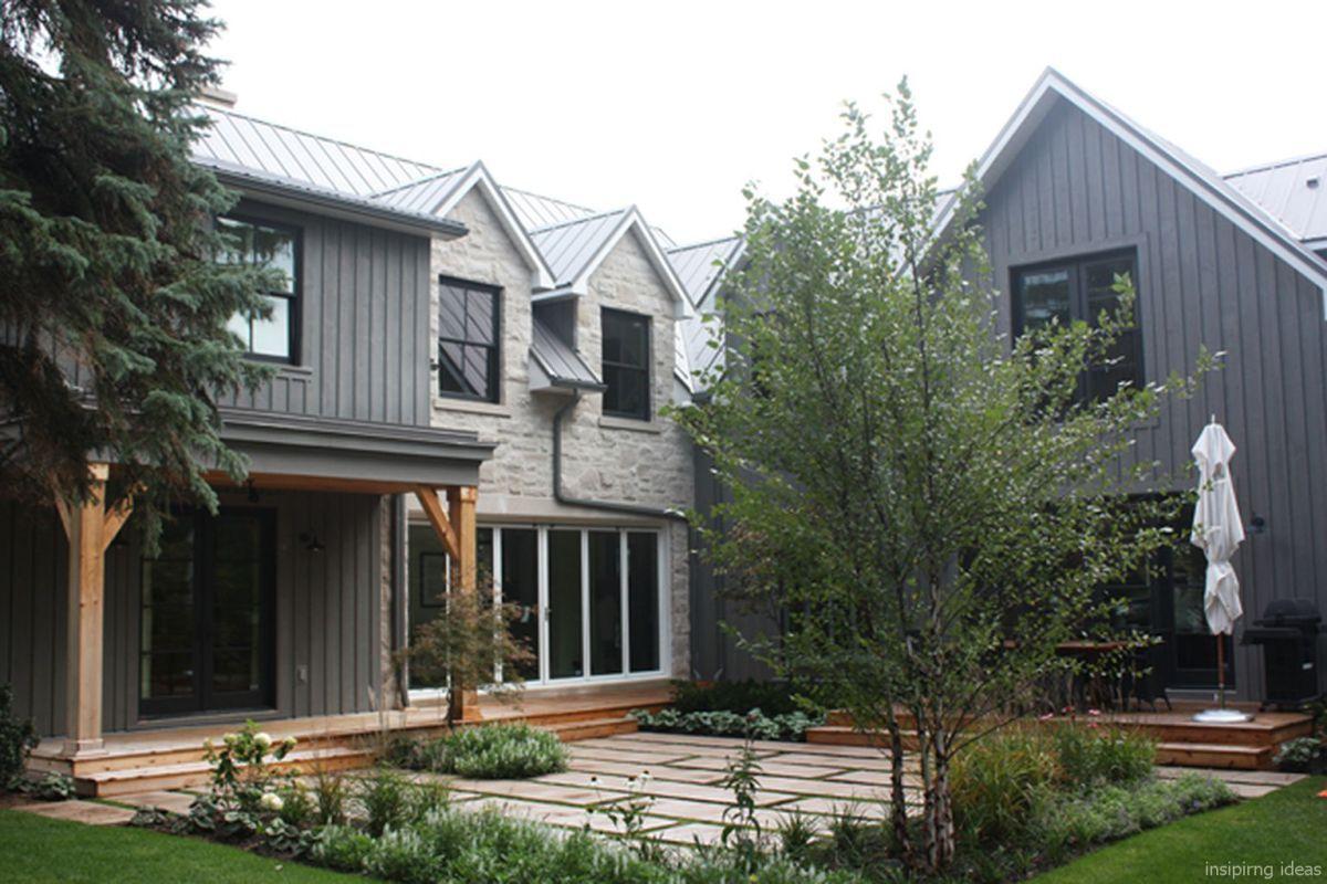 Case Moderne Esterni : Simple modern farmhouse exterior design ideas pathways case