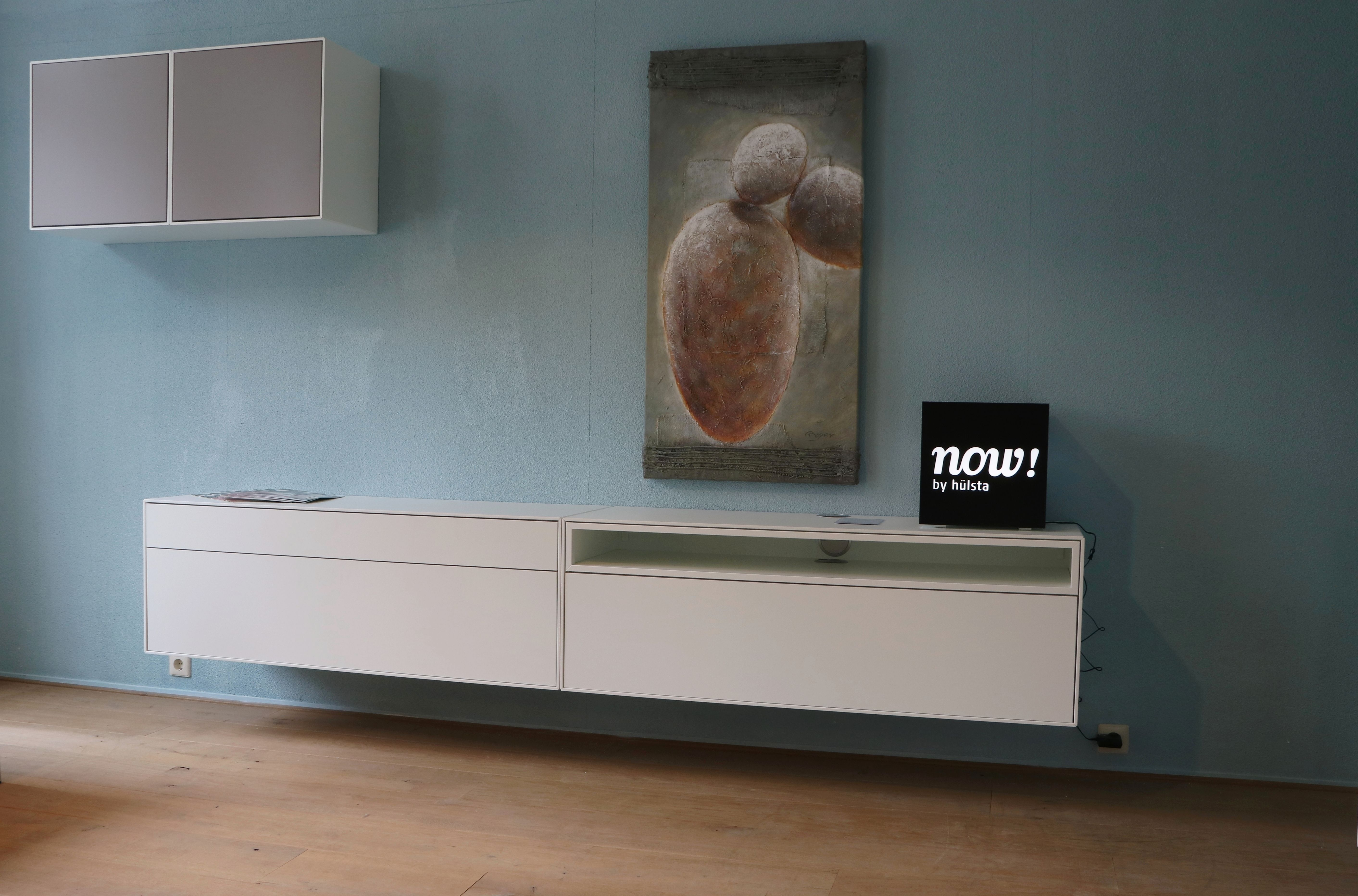 Hulsta Tv Meubel : Now by hülsta tv dressoir meubel hoogglans wit modern strak