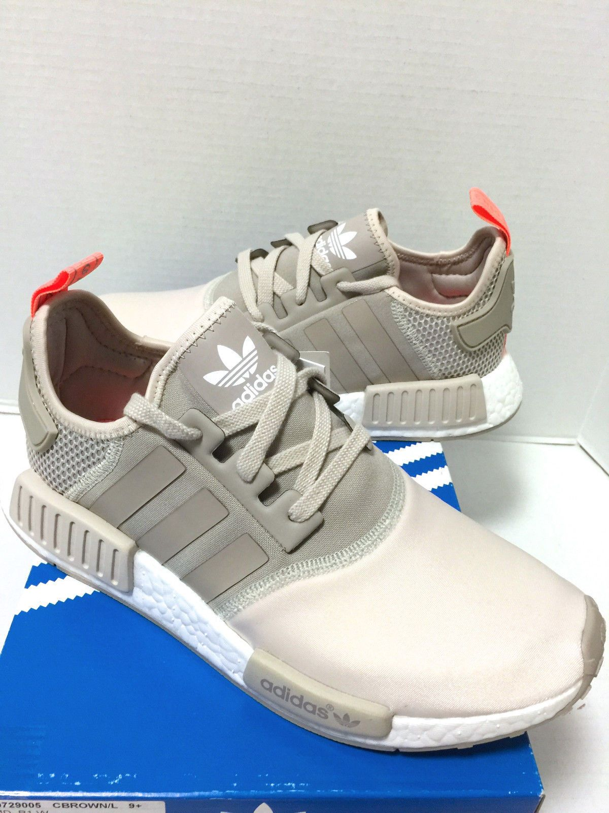 e7b16f7bd1aef New Adidas NMD Runner R1 Gold Nude Mesh Backs Peach Tan Women size 9.5
