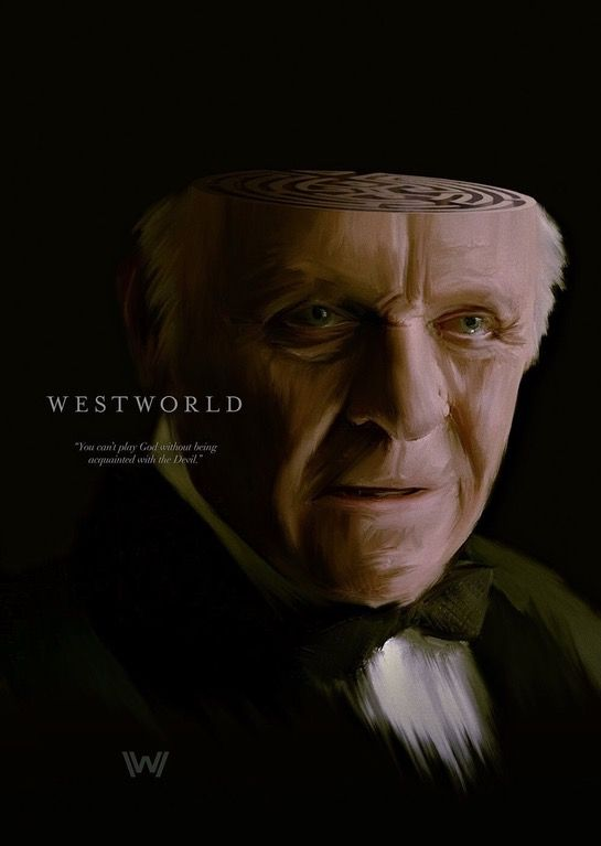 Robert Ford By Raborlatte Posters Westworld Westworld Hbo Westworld Westworld Movie