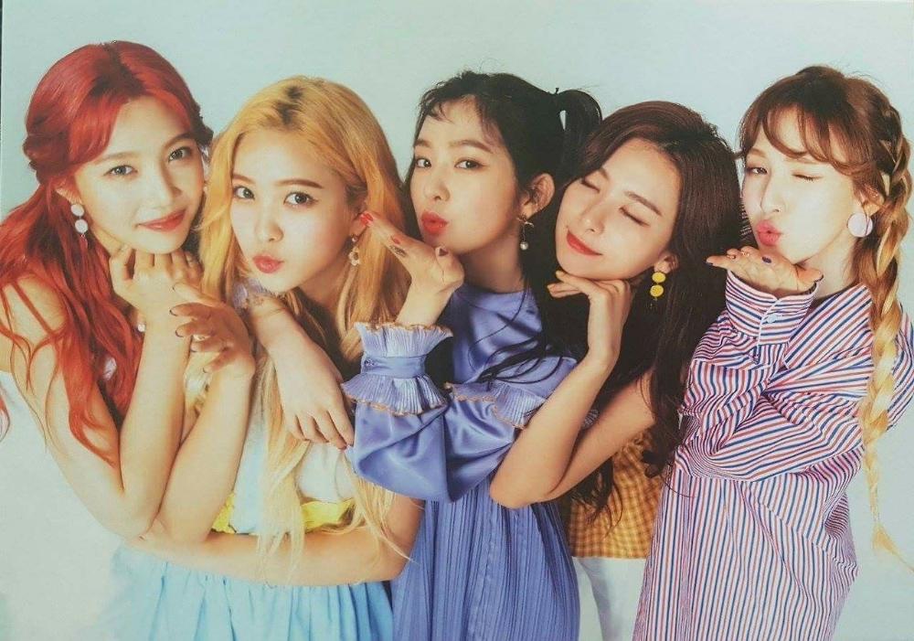 Cute Red Velvet Ot5 Google Search Red Velvet Cute Korean Girl Groups